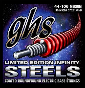 GHS Steel Bass Guitar Strings Medium 44-106
