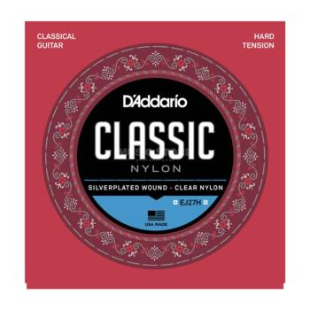 D'Addario Student Nylon Classical Guitar Strings - Hard