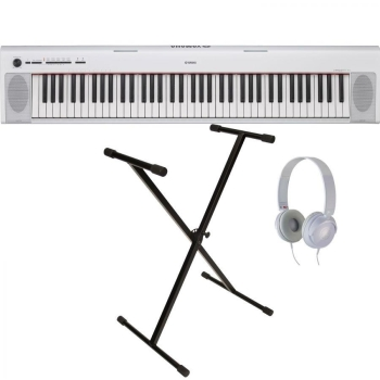Yamaha Digital Keyboard NP-32WH White Starter Pack