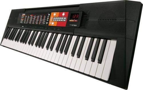 Yamaha PSR-F51 Digital Keyboard - Black