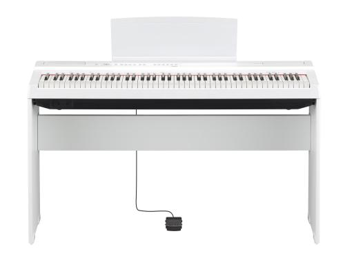 Yamaha Digital Piano P-125Wh White Essential Pack