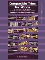 Larry Clark: Compatible Trios For Winds - Trombone / Euphonium / Bassoon
