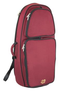 Tom & Will Euphonium Gig Bag - Burgundy with Black Piping