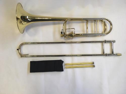 Bb/F Trombone with Hagman Type Valve, Open Wrap, Lacquer