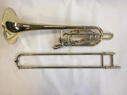 Bass Trombone, Independent Valves, Open Wrap in Lacquer