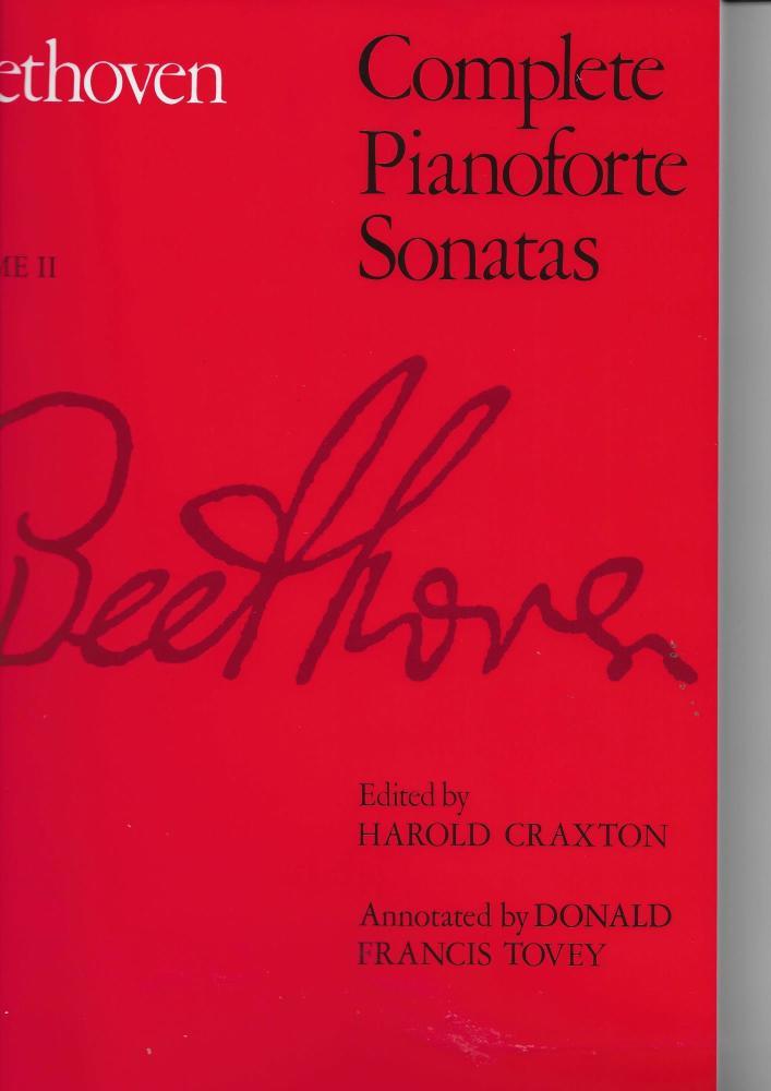 Beethoven: Complete Pianoforte Sonatas - Volume II (ABRSM Edition)