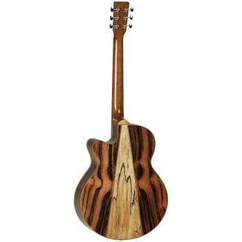 Tanglewood Java Super Folk Cutaway - Solid Cedar Top, Amara/Spalt Mango Back