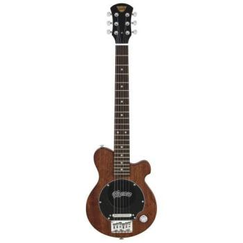 Pignose Electric Guitar with Bag, Mahogany