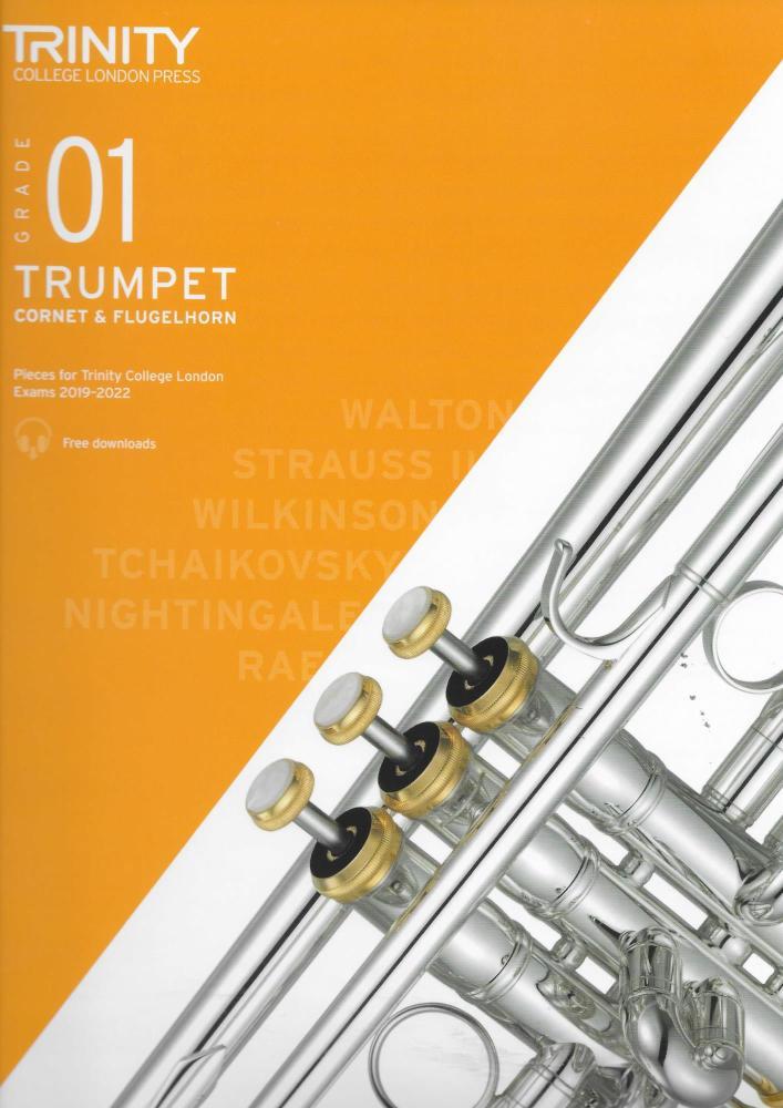 TCL: Trumpet, Cornet & Flugelhorn Exam Pieces 2019-2022 - Grade 1