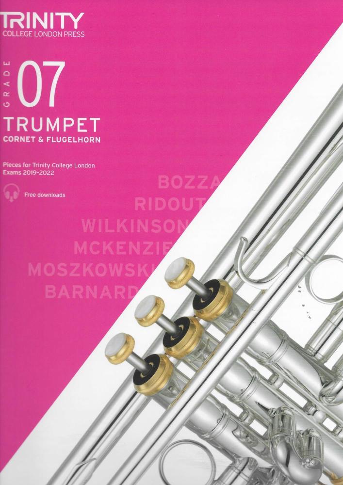 TCL: Trumpet, Cornet & Flugelhorn Exam Pieces 2019-2022 - Grade 7