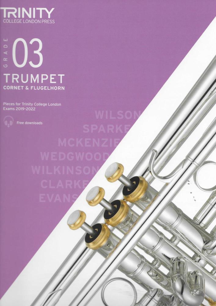 TCL: Trumpet, Cornet & Flugelhorn Exam Pieces 2019-2022 - Grade 3
