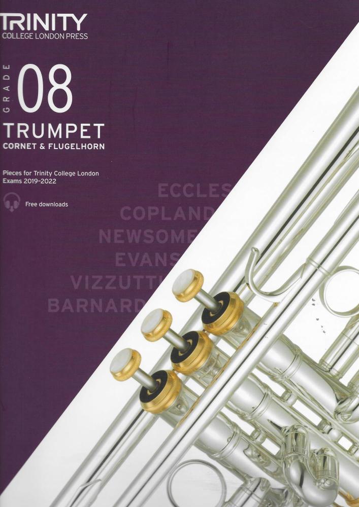 TCL: Trumpet, Cornet & Flugelhorn Exam Pieces 2019-2022 - Grade 8