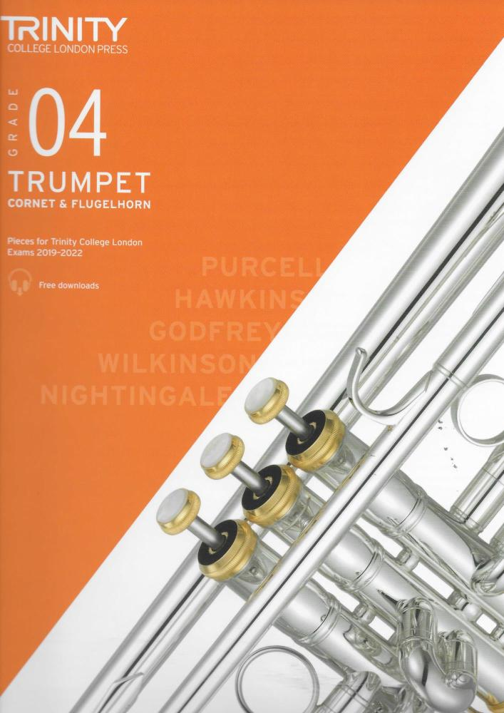 TCL: Trumpet, Cornet & Flugelhorn Exam Pieces 2019-2022 - Grade 4