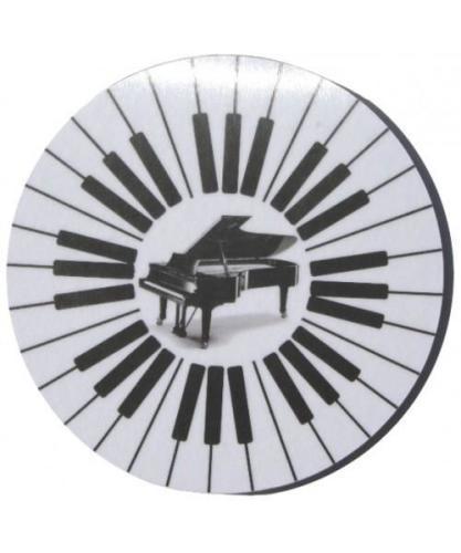 Round Keyboard Mugmats