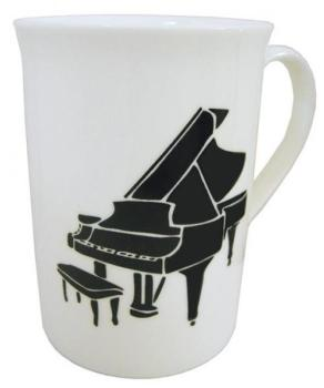 Music Gifts Grand Piano Bone China Mug