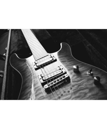 Music Gifts Electric Guitar Greeting Card