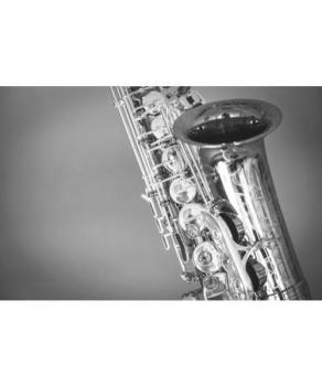 Music Gifts Saxophone Greeting Card