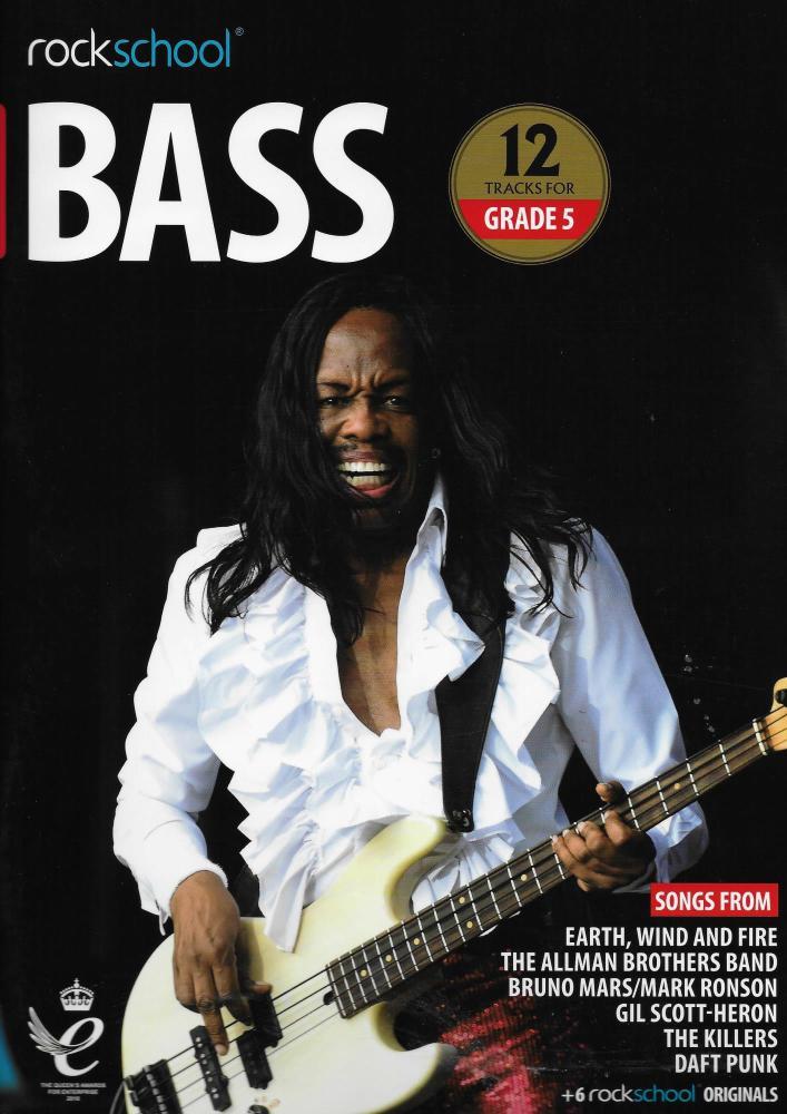 Rockschool: Bass Grade 5 2018+ (Book/Audio)