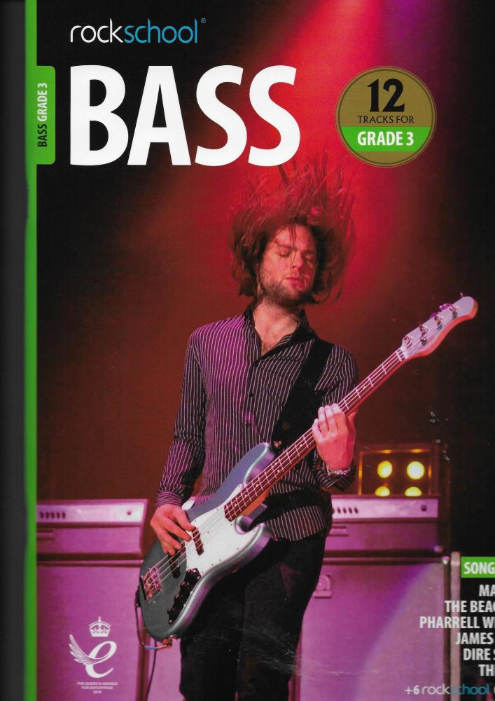 Rockschool: Bass Grade 3 2018+ (Book/Audio)