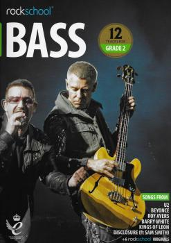 Rockschool: Bass Grade 2 2018+ (Book/Audio)