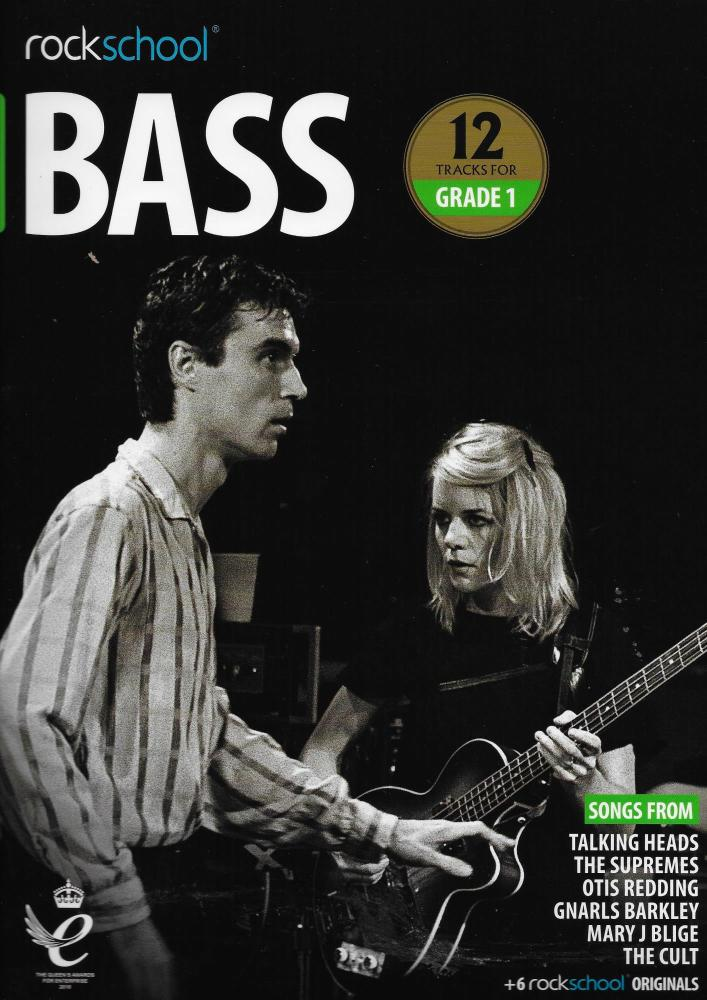 Rockschool: Bass Grade 1 2018+ (Book/Audio)