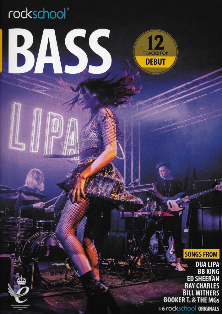 Rockschool: Bass Debut 2018+ (Book/Audio)