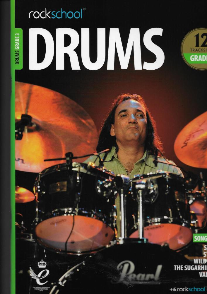 Rockschool: Drums Grade 3 2018+ (Book/Audio)