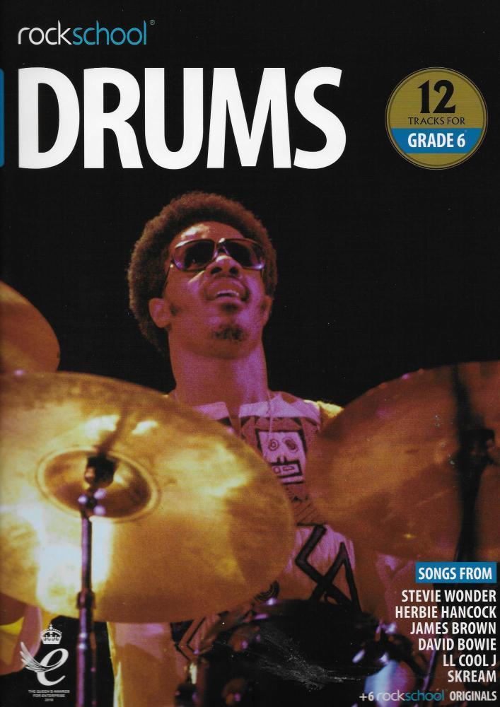 Rockschool: Drums Grade 6 2018+ (Book/Audio)