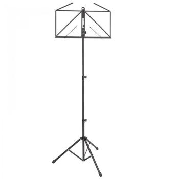 Kinsman Deluxe Music Stand & Bag - Black