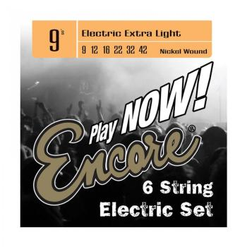 Encore Electric Guitar Strings - Lite