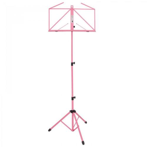 Kinsman Deluxe Music Stand & Bag - Pink