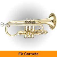 Eb Cornets