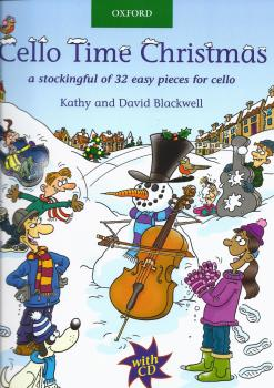 Cello Time Christmas - Book/CD