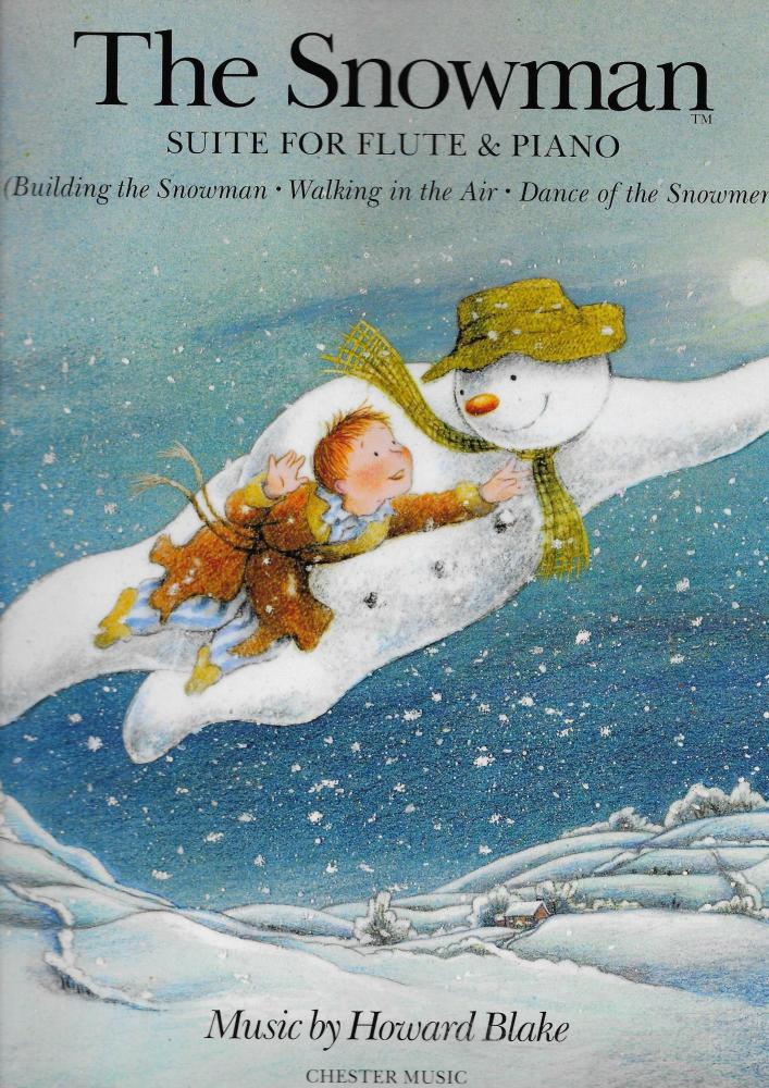 Howard Blake: The Snowman Suite - Flute/Piano