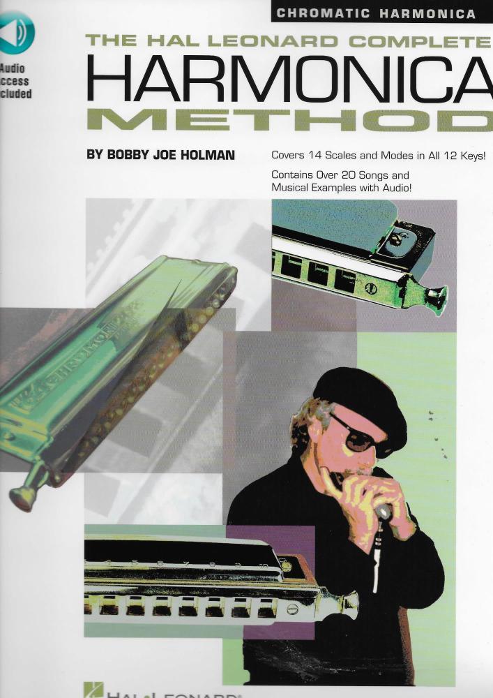 The Complete Harmonica Method: Chromatic (Book/Online Audio)