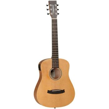 Tanglewood Travel Size Orchestra Spruce Top and Back with Bag