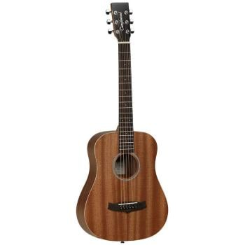 Tanglewood Travel Size Orchestra Mahogany Top with Bag