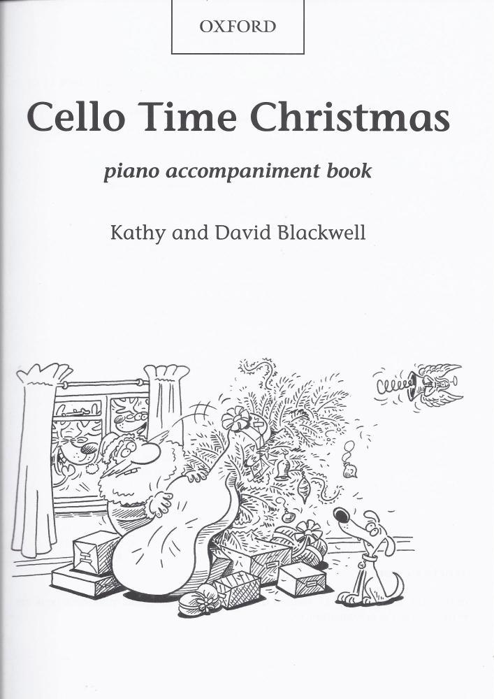 Cello Time Christmas piano accompaniment book