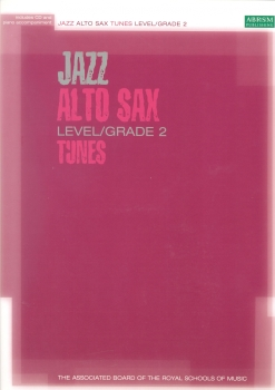 ASSOCIATED BOARD JAZZ ALTO SAX TUNES LEVEL/GRADE 2 (BOOK/CD) ASAX