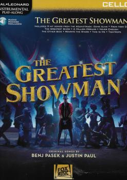 Instrumental Play-Along: The Greatest Showman - Cello (Book/Online Audio)
