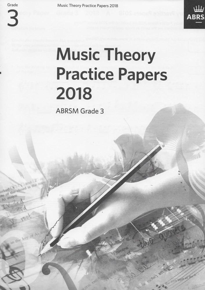 ABRSM: Music Theory Practice Papers 2018 - Grade 3