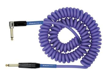 Kirlin Premium Coil Cable 30FT Purple