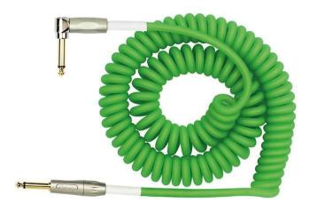 Kirlin Premium Coil Cable 30FT Green
