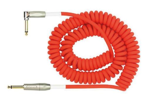 Kirlin Premium Coil Cable 30FT Red