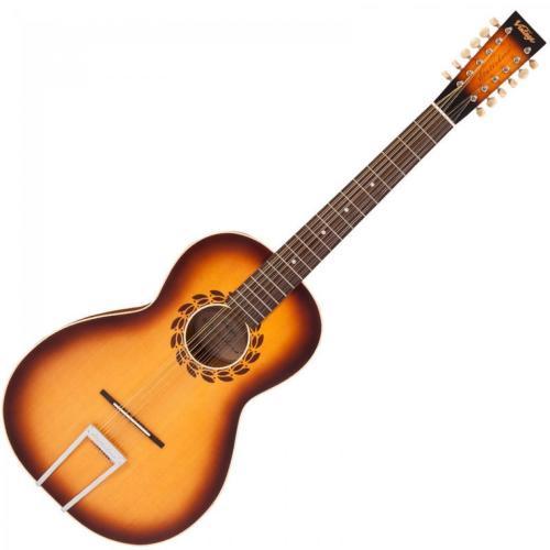 Vintage Statesboro 12 String Guitar and Case by Paul Brett