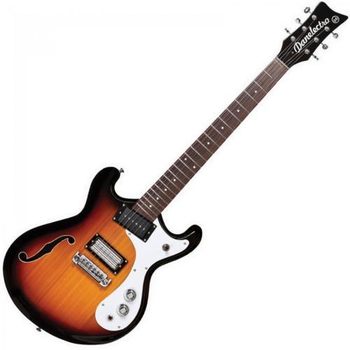 Danelectro 66 Guitar - 3 Tone Sunburst
