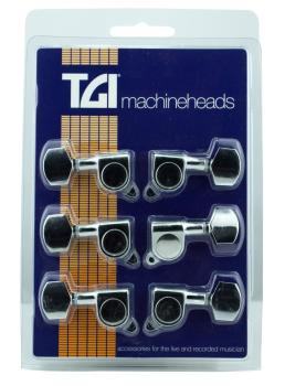 Guitar Machineheads Electric 3 a Site M6 Style Chrome