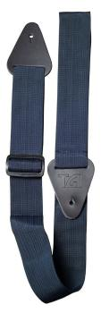 TGI Guitar Strap Woven Plain Navy Blue