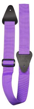 TGI Guitar Strap Woven Plain Purple