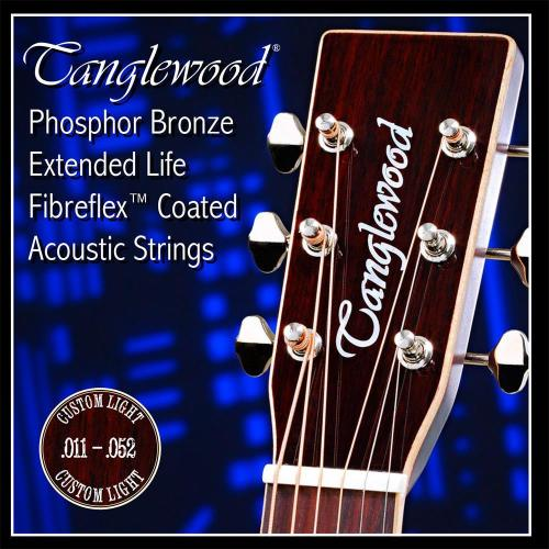 Phosphor Bronze Coated Acoustic Guitar String